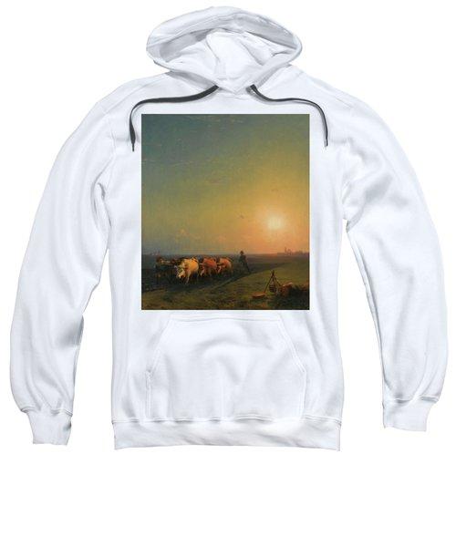 Ploughing The Fields, Crimea Sweatshirt
