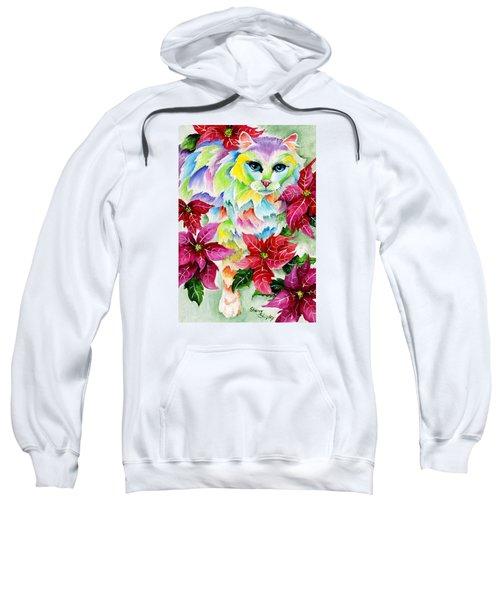 Poinsettia Sweetheart Sweatshirt