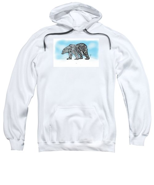 Polar Bear Doodle Sweatshirt