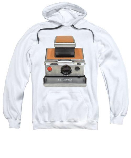 Polaroid Sx70 On White Sweatshirt