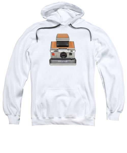 Polaroid Sx70 On White Sweatshirt