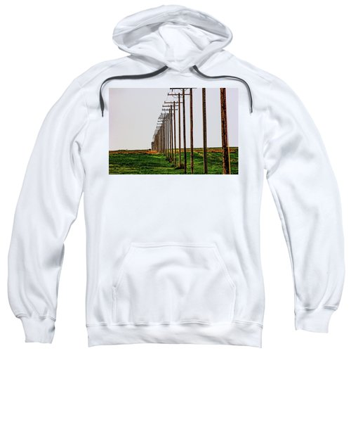 Poles In A Row Sweatshirt