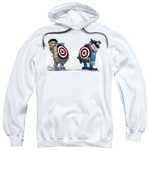 Police And Black Folks Are Targets Sweatshirt