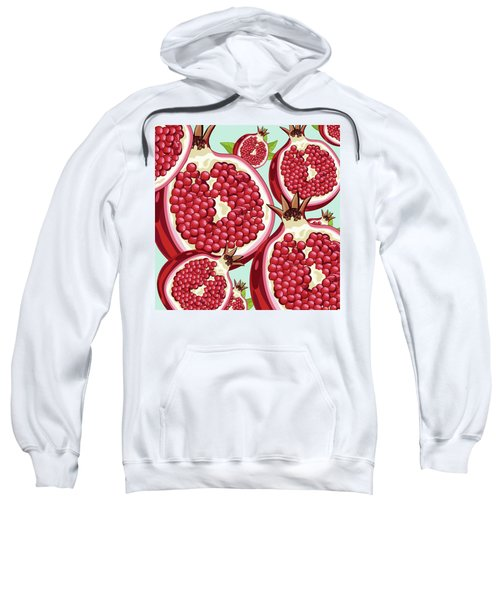 Pomegranate   Sweatshirt by Mark Ashkenazi