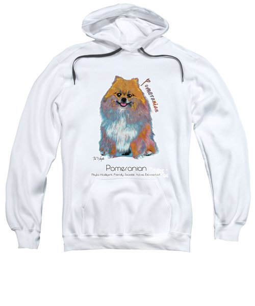 Pomeranian Pop Art Sweatshirt