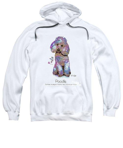 Poodle Pop Art Sweatshirt