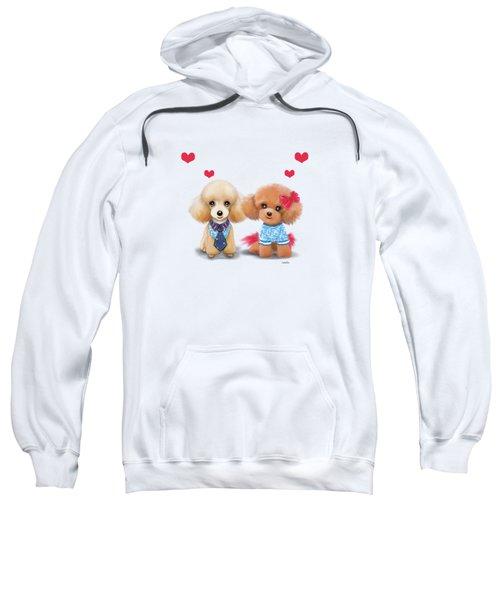 Poodles Are Love Sweatshirt