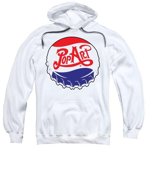 Pop Art Bottle Cap Sweatshirt