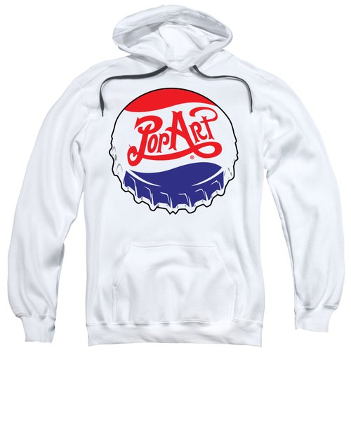 Pop Art Bottle Cap Sweatshirt