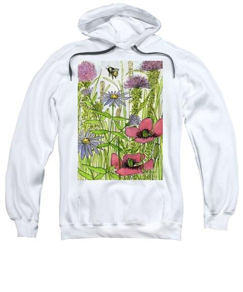 Poppies And Wildflowers Sweatshirt