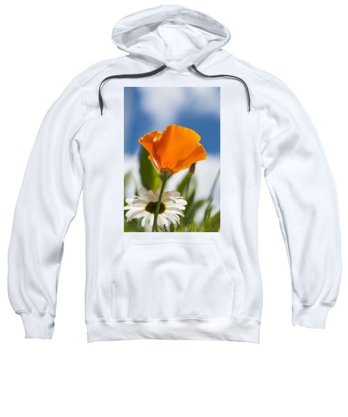 Poppy And Daisies Sweatshirt