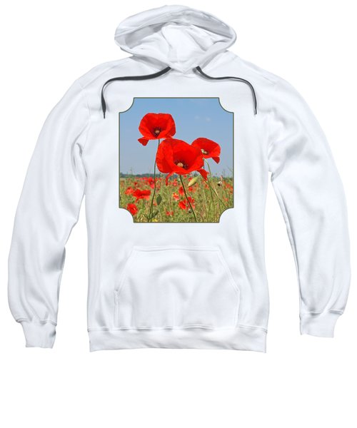 Poppy Fields 4 Sweatshirt