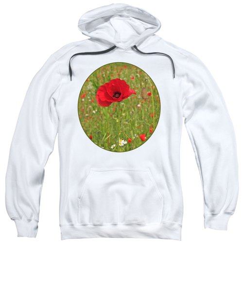 Poppy With Bud Sweatshirt