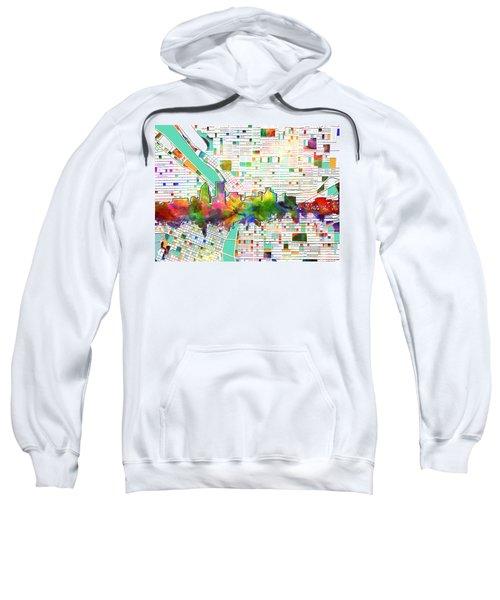 Portland Skyline Watercolor 2 Sweatshirt
