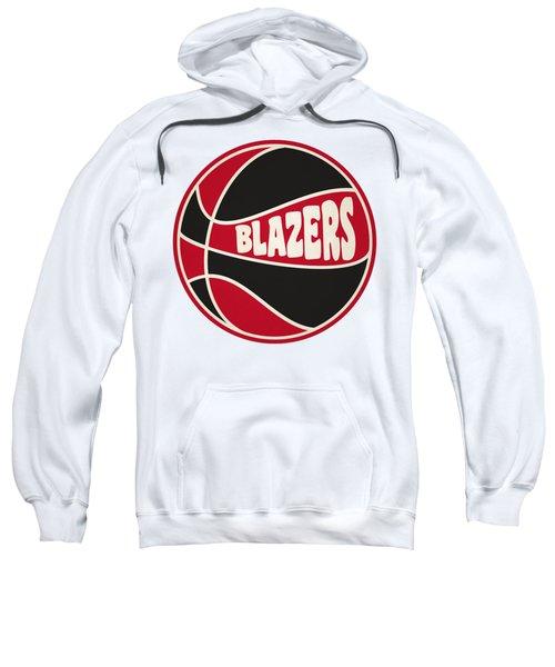 Portland Trail Blazers Retro Shirt Sweatshirt by Joe Hamilton