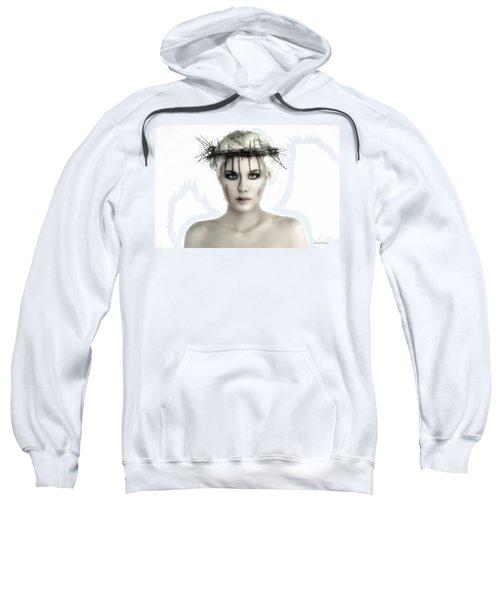 Portrait Of A Jesus Woman Sweatshirt