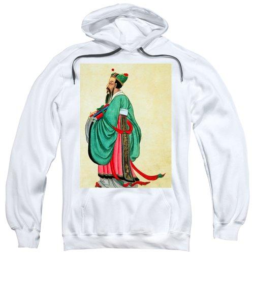 Portrait Of Confucius  Sweatshirt