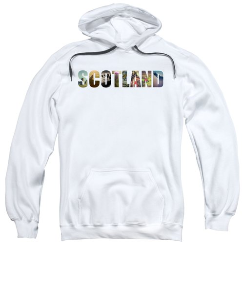 Postcard For Scotland Sweatshirt