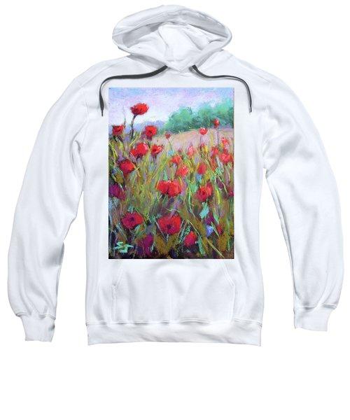 Praising Poppies Sweatshirt