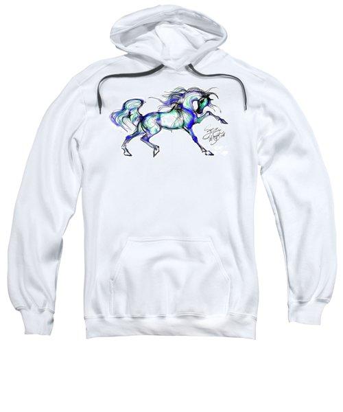 Prancing Arabian Horse Sweatshirt