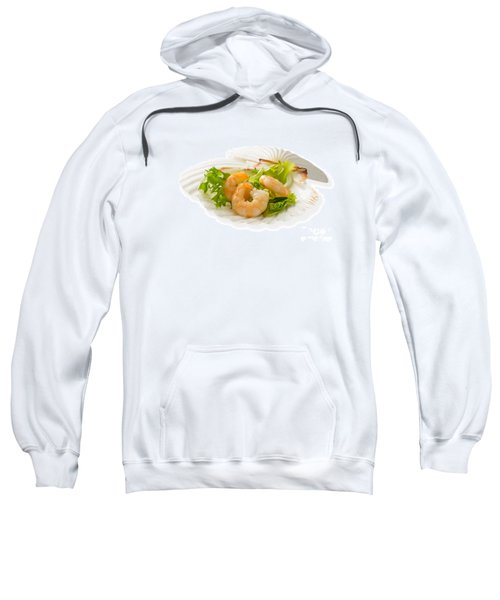 Prawn Appetizer Sweatshirt