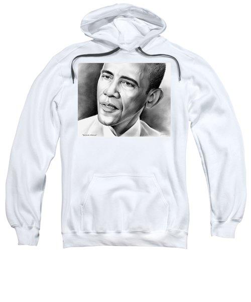 President Barack Obama Sweatshirt by Greg Joens
