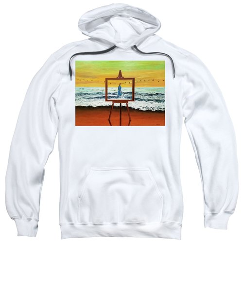 Pretty As A Picture Sweatshirt