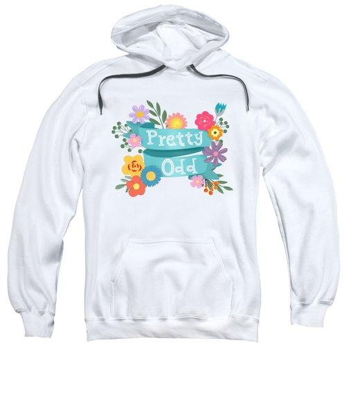 Pretty Odd Floral Banner Sweatshirt