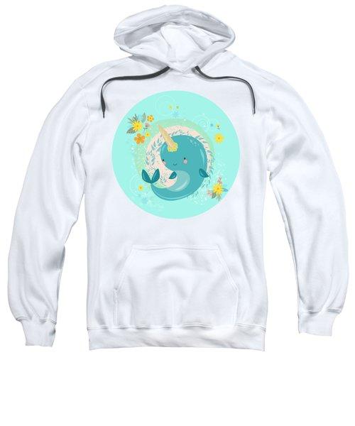 Pretty Princess Narwhal Sweatshirt