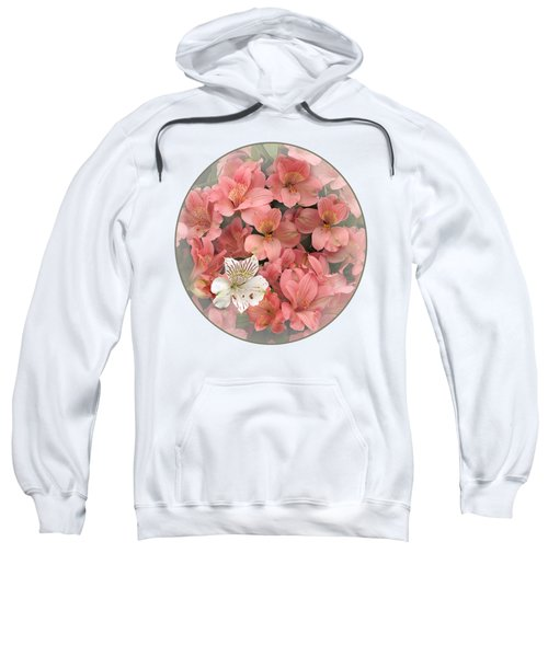 Prima Donna - Alstroemeria Sweatshirt by Gill Billington