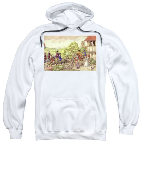 Prince Edward Riding From Ludlow To London Sweatshirt