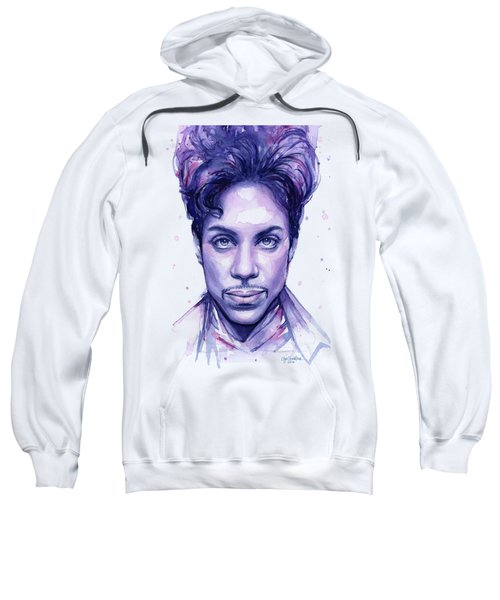Prince Purple Watercolor Sweatshirt