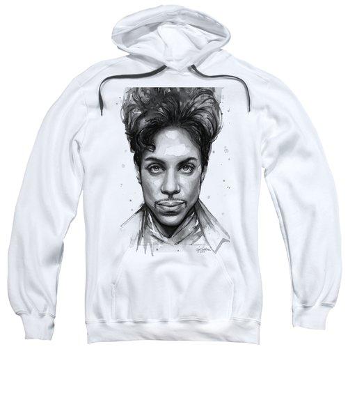 Prince Watercolor Portrait Sweatshirt