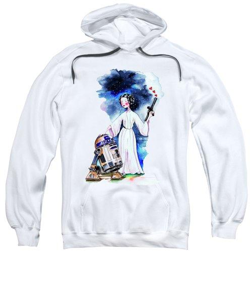 Princess Leia Illustration Sweatshirt