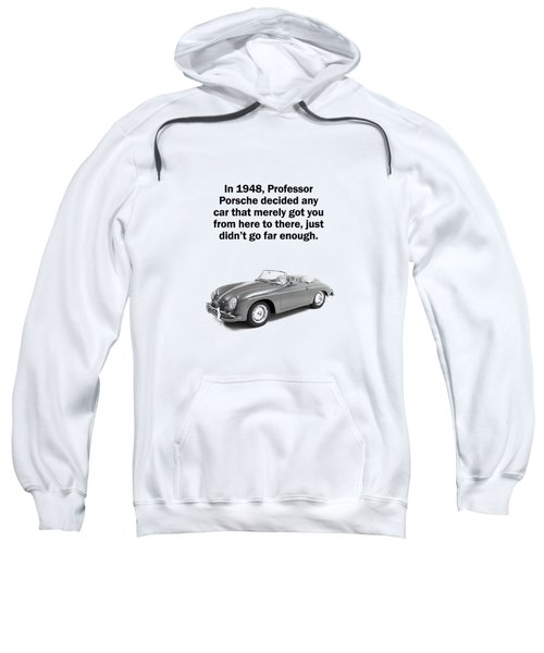 Porsche 356 Hooded Sweatshirts