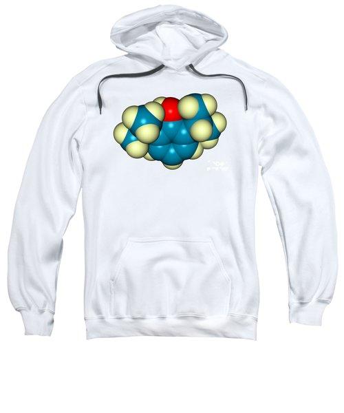 Propofol Diprivan Molecular Model Sweatshirt
