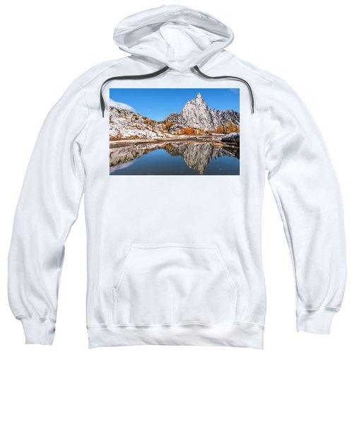 Prusik Peak Reflected In Gnome Tarn Sweatshirt