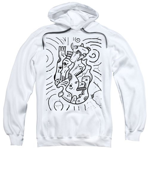 Psychedelic Animals Sweatshirt by Sotuland Art