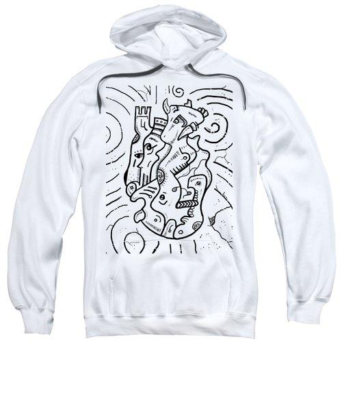Psychedelic Animals Sweatshirt