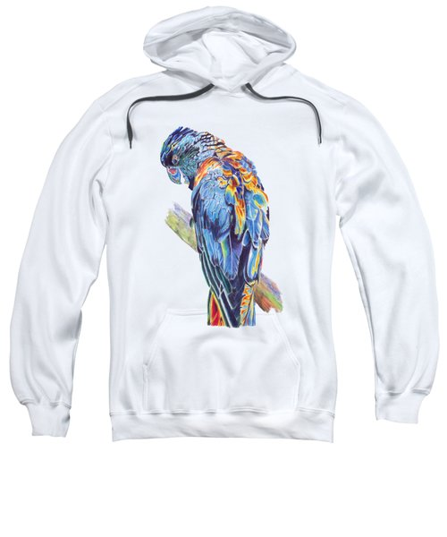 Psychedelic Parrot Sweatshirt