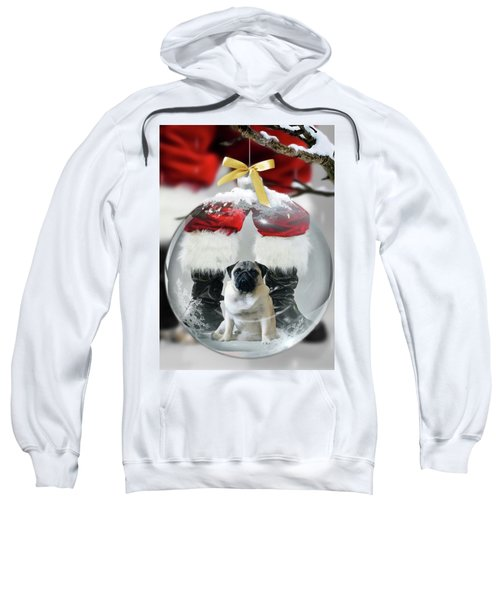 Pug And Santa Sweatshirt