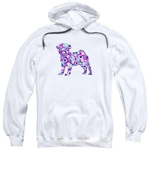 Pug - Animal Art Sweatshirt