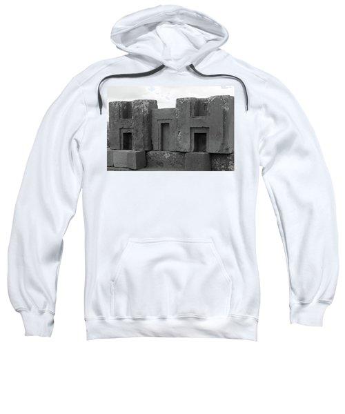 Puma Punku H Blocks, Bolivia Sweatshirt