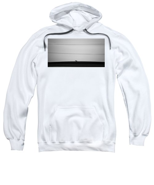 Sweatshirt featuring the photograph Pump Jack by Stephen Holst