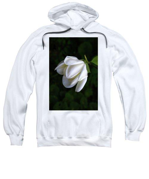 Purity In White Sweatshirt