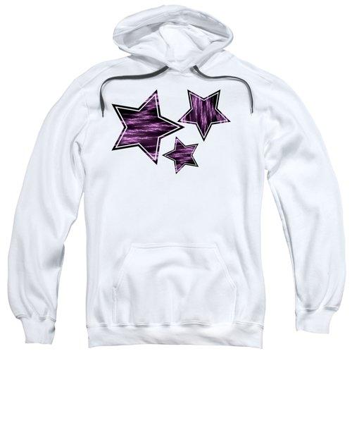 Purple Lightening Sweatshirt
