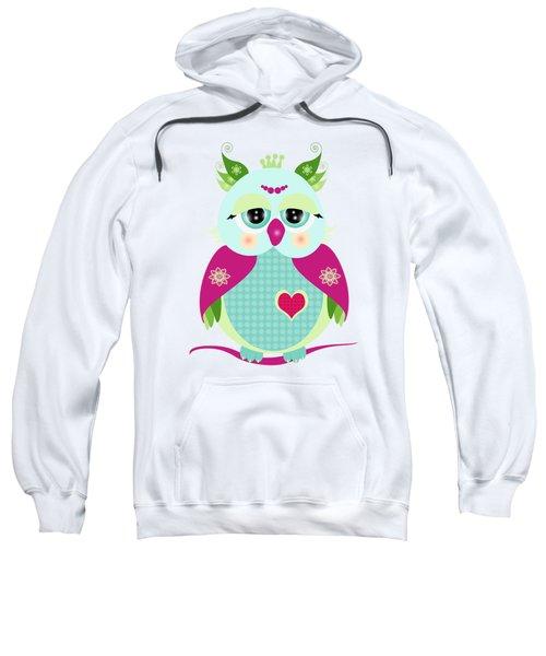 Purple Owl Sweatshirt