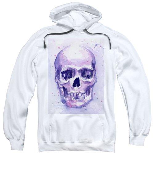 Purple Skull Sweatshirt
