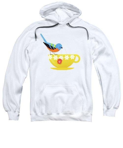 Put The Kettle On Sweatshirt by Little Bunny Sunshine