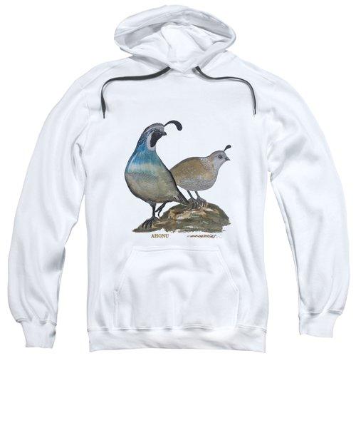 Quail Parents Wondering Sweatshirt